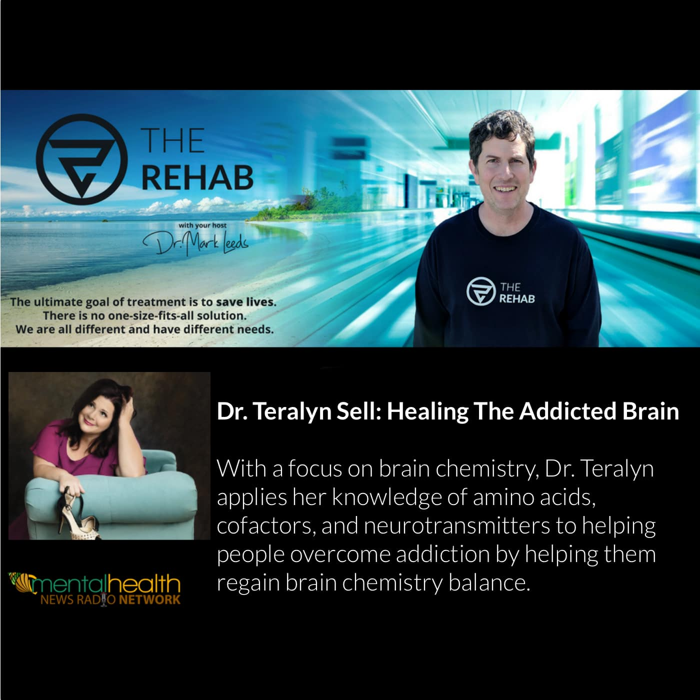 Dr. Teralyn Sell, Brain Chemistry Expert: Healing The Addicted Brain