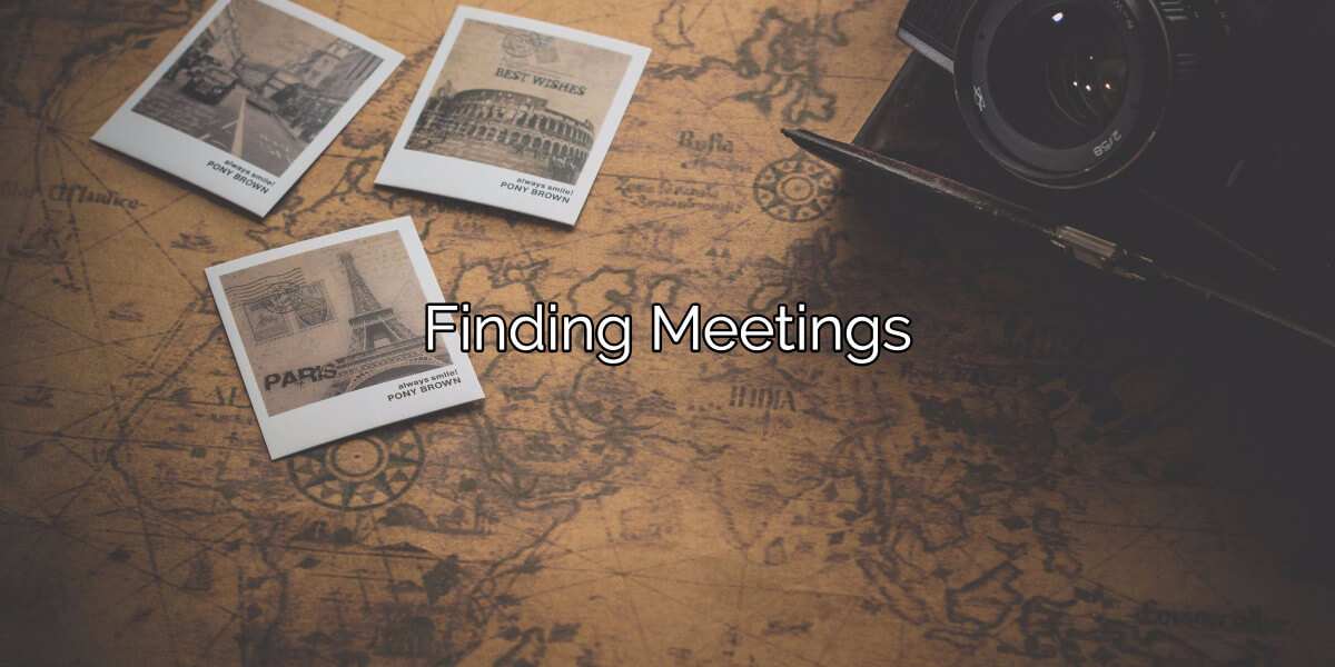 Finding Meetings Is Easy. 12-Step Meetings Help You Quit Drugs.