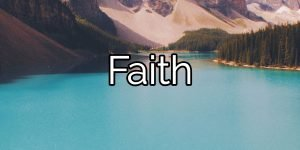 Faith: The power of faith in yourself and the possibility of quitting drugs.